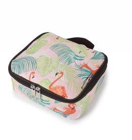Happy Wahine Nylon Leah Small Flamingo Monstera Pink