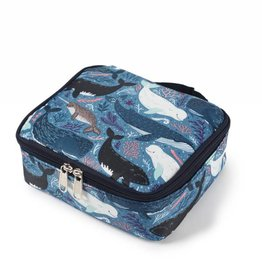 Nylon Leah Small Whales Blue