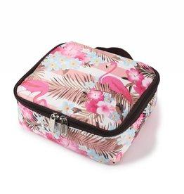 Happy Wahine Nylon Leah Small Flamingo Stripes Pink