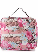 Happy Wahine Nylon Leah Small Flamingo Stripes Pink