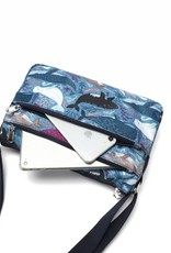 Happy Wahine Nylon Kayla Whales Blue