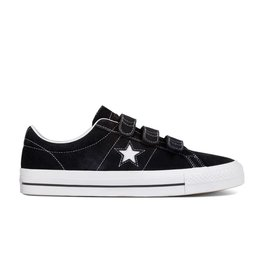 CONVERSE ONE STAR PRO 3V OX BLACK/POMEGRANATE RED C887PO-162518C