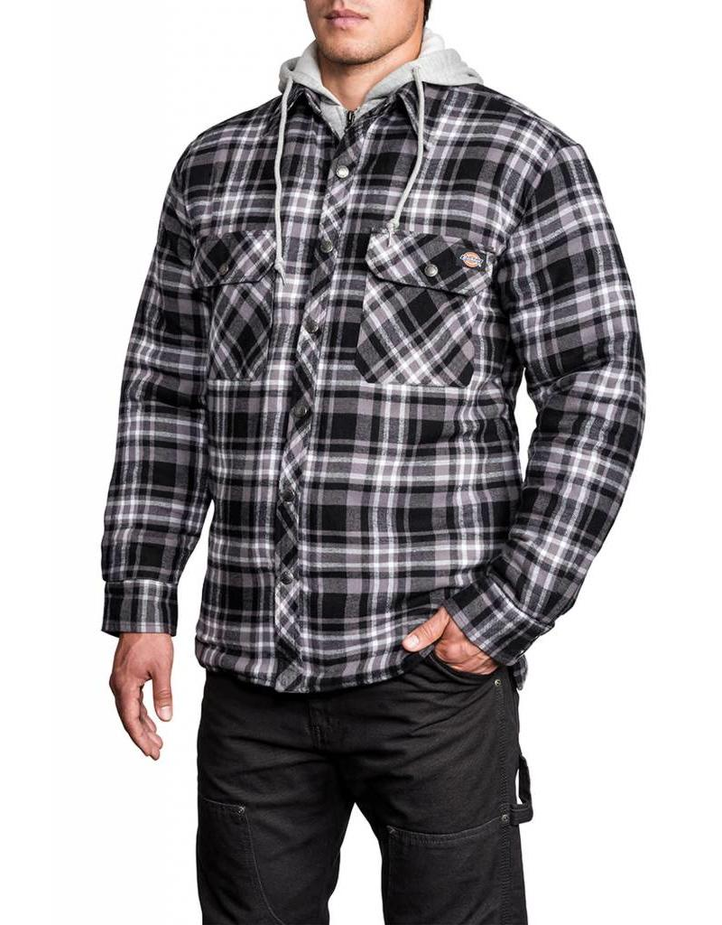 DICKIES Quilted Faux Fleece Jacket