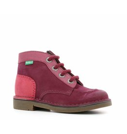 KICKERS KICK COLZ BORDEAUX ROSE KR85BOR 18H440485-30+183
