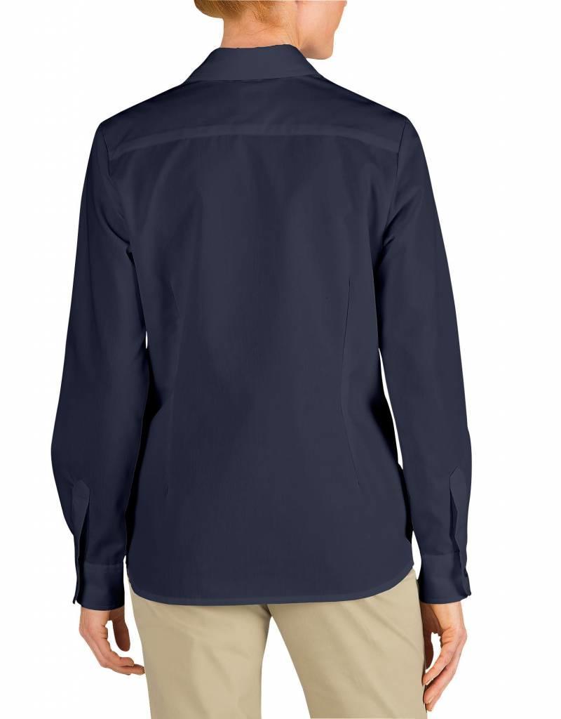 DICKIES Women`s Long Sleeve Work Shirt FL136