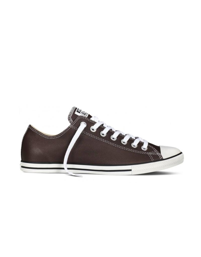 CONVERSE Copy of CHUCK TAYLOR LOW LEAN OX THUNDER NATURAL LEATHER CC540LBU-149404C