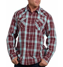 DICKIES Long Sleeve Plaid Western Shirt WL534