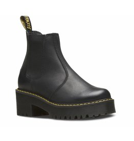 DR. MARTENS ROMETTY BLACK BURNISHED WYOMING E46B-R23917001