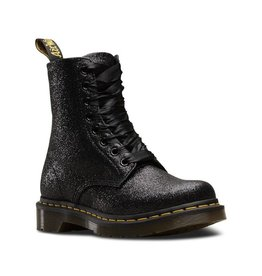 DR. MARTENS 1460 VIRGINIA BLACK METALLIC 815VME-R24791001