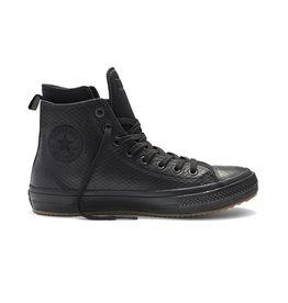 CONVERSE CHUCK TAYLOR II BOOT HI LEATHER BLACK/BLACK/BLACK CCT2HBMO-153571C