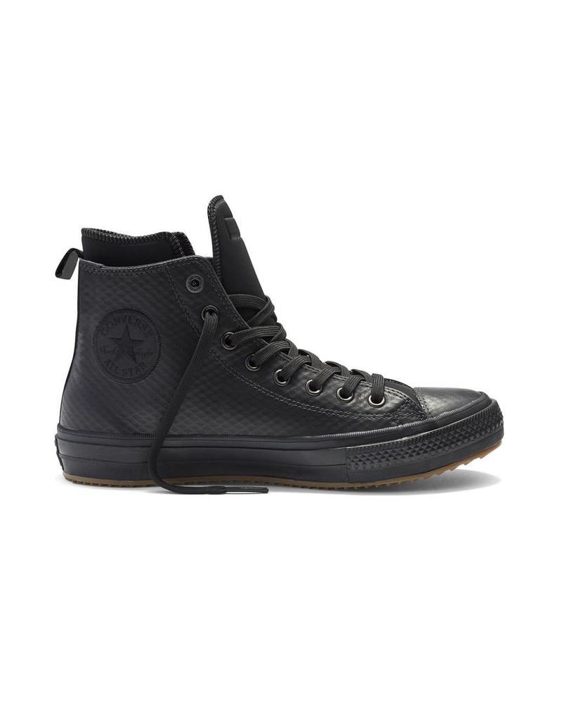 CONVERSE CHUCK TAYLOR II BOOT HI CUIR BLACK/BLACK/BLACK CCT2HBMO-153571C