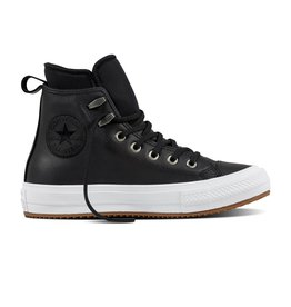 CONVERSE CHUCK TAYLOR WP BOOT HI LEATHER BLACK/BLACK/WHITE CCT17B-557943C