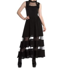 HELL BUNNY Bellatrix Maxi Dress Black