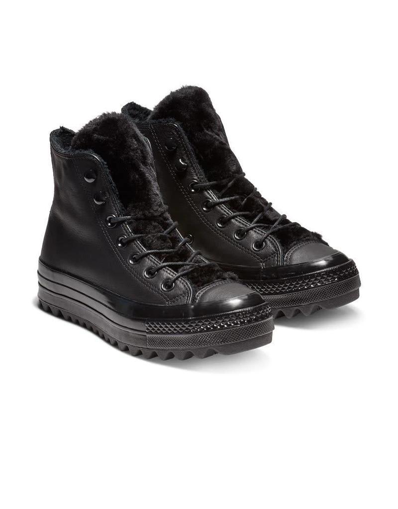 CONVERSE CHUCK TAYLOR LIFT RIPPLE HI BLACK/BLACK/BLACK C18LRB-562422C