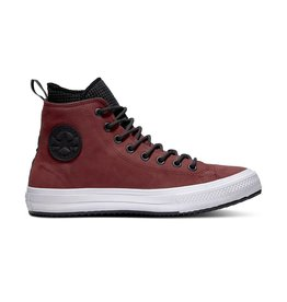 CONVERSE CHUCK TAYLOR WP BOOT HI DARK LEATHER BURGUNDY/BLACK C894DA-162410C