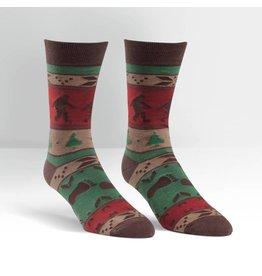 SOCK IT TO ME - Men's Big Foot Sweater Crew Socks