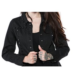 SOURPUSS - Eisenhower Studded Black Jacket