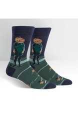 SOCK IT TO ME - Men's Pumpkin Head Crew Socks