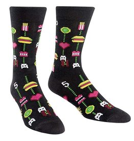 SOCK IT TO ME - Men's Gamer Food Crew Socks
