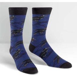 SOCK IT TO ME - Men's Raven Crew Socks