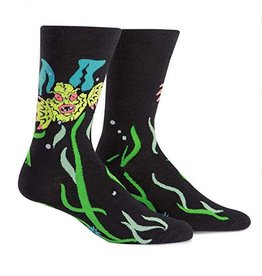 SOCK IT TO ME - Men's Creature From The Shoe Crew Socks