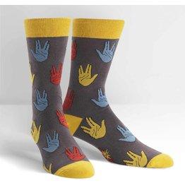 SOCK IT TO ME - Men's Salutations Crew Socks