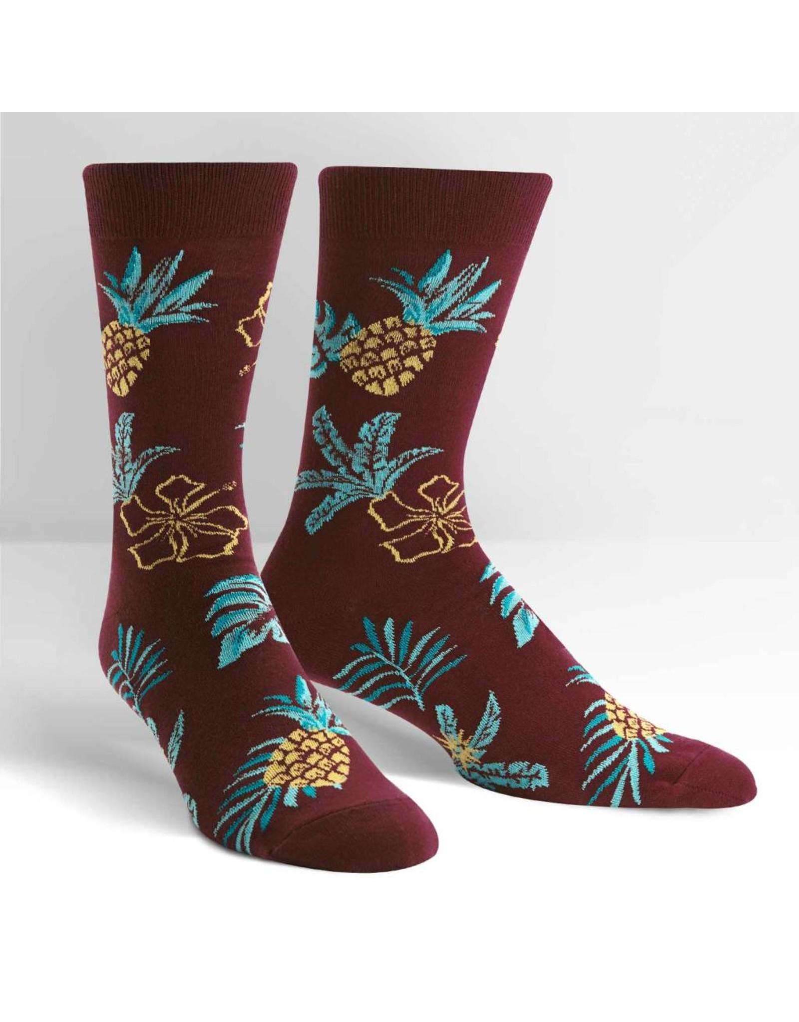 SOCK IT TO ME - Men's Hawaiian Sock Day Crew Socks