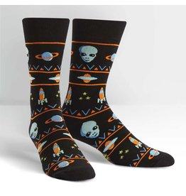 SOCK IT TO ME - Men's Alien Sweater Sighting Crew Socks