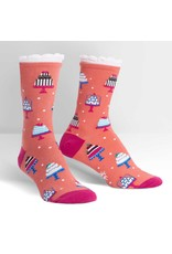 SOCK IT TO ME - Women's Tiers Of Joy Crew Socks