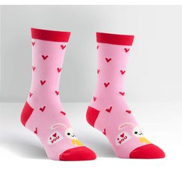 SOCK IT TO ME - Women's Love Bunny Crew Socks