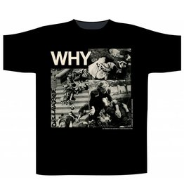 "Discharge ""WHY"" T-Shirt"