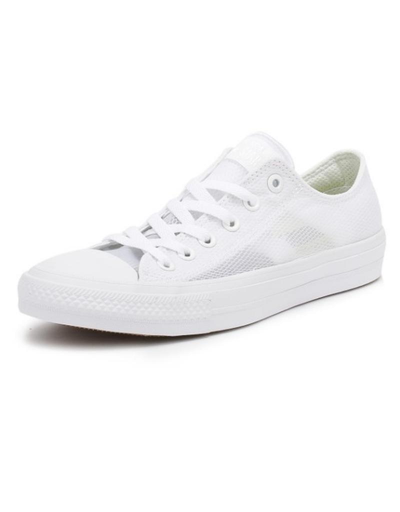 CONVERSE CHUCK TAYLOR II OX WHITE/WHITE/WHITE CT11MW-155431C
