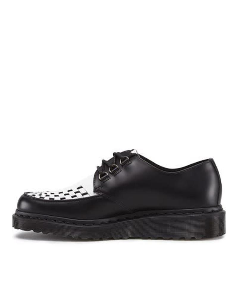 DR. MARTENS BECK BLACK AND WHITE SMOOTH 345BW - R15237002