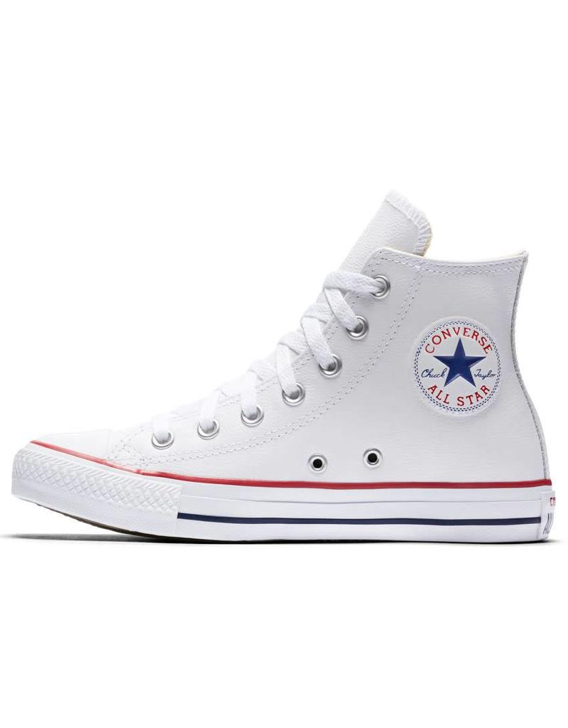CONVERSE CHUCK TAYLOR HI LEATHER WHITE CC1OP-132169C