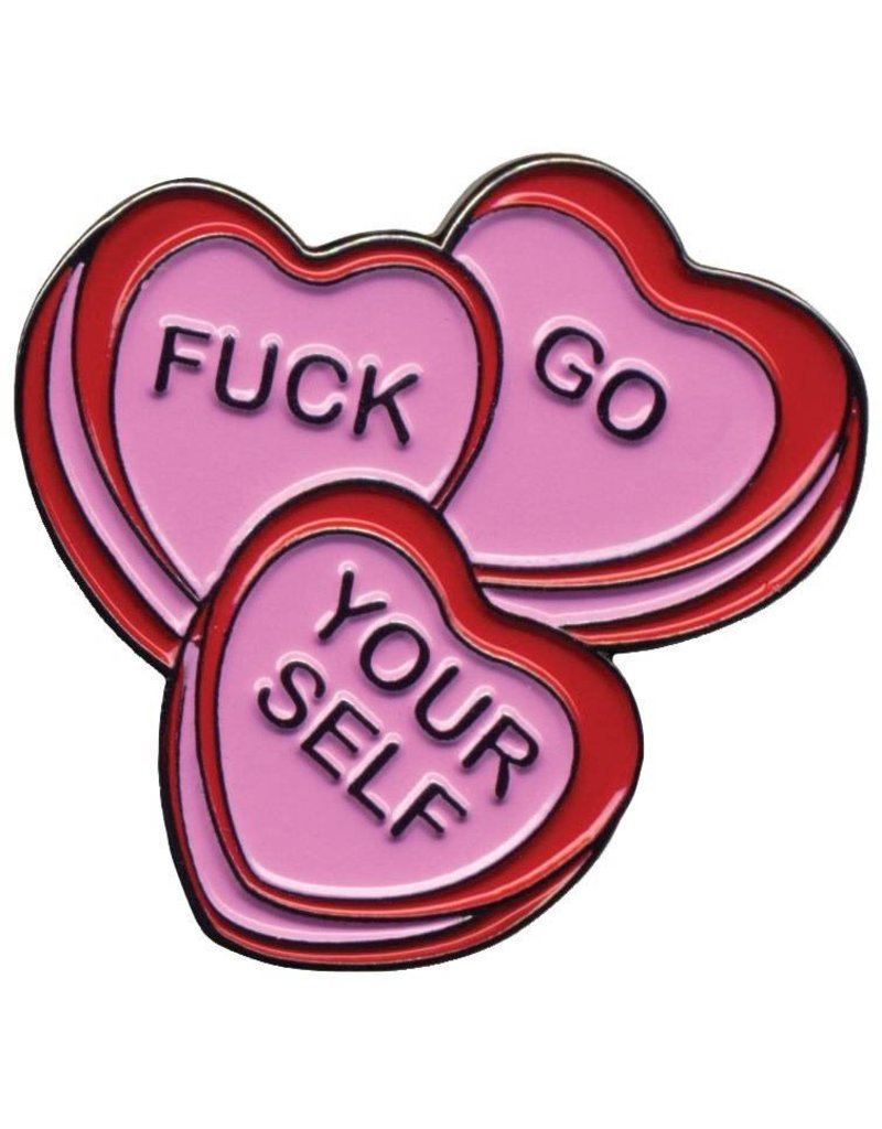SOURPUSS - Candy Hearts Pin