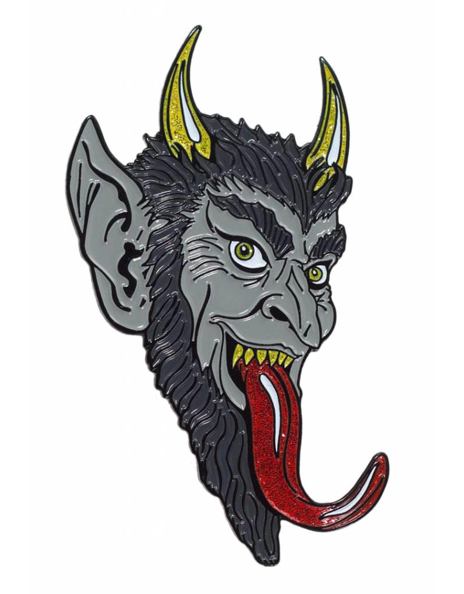 KREEPSVILLE 666 - Krampus Smile Enamel Pin