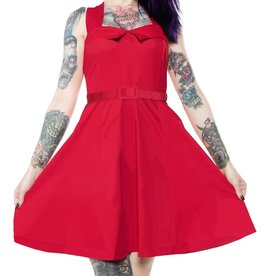 SOURPUSS - Veronica Swing Red Dress