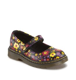 DR. MARTENS TULLY INFANTS MARY JANE BLACK GARDEN SOFTY YM2FL-R15654004