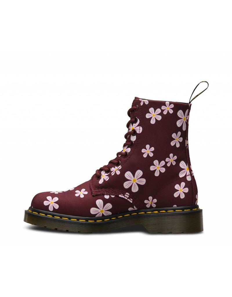 DR. MARTENS PAGE MEADOW CHERRY RED MEADOW FLOWERS T CANVAS 815FCRM-R23224600