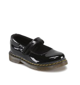 DR. MARTENS TULLY TODDLER MARY JANE BLACK PATENT YM2PB-R15654002