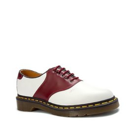 DR. MARTENS RAFI SMOOTH WHITE + CHERRY RED 511WER-R13845110