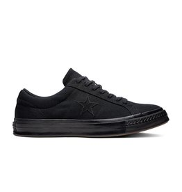 CONVERSE ONE STAR OX BLACK/BLACK/BLACK C987JB-163380C