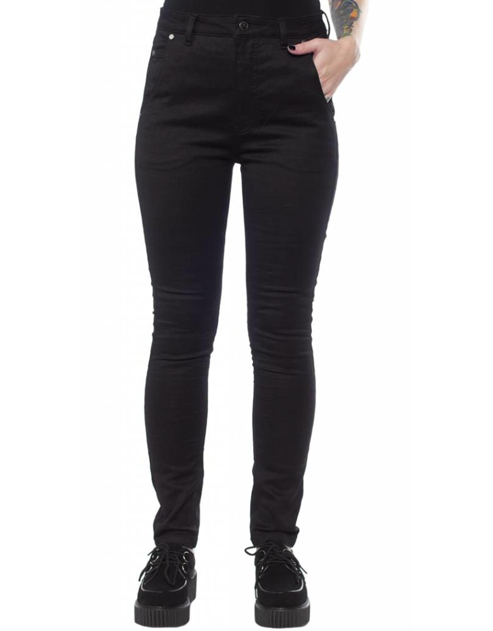 SOURPUSS - Essential Black 5 Pocket Pants