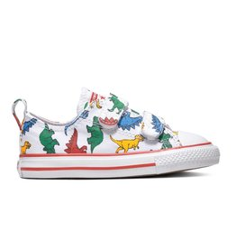 CONVERSE CHUCK TAYLOR ALL STAR 2V OX WHITE/ENAMEL RED/TOTALLY BLUE CKVEN-763713C