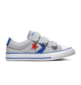CONVERSE STAR PLAYER 3V OX WOLF GREY/BLUE CZ86WG-663601C