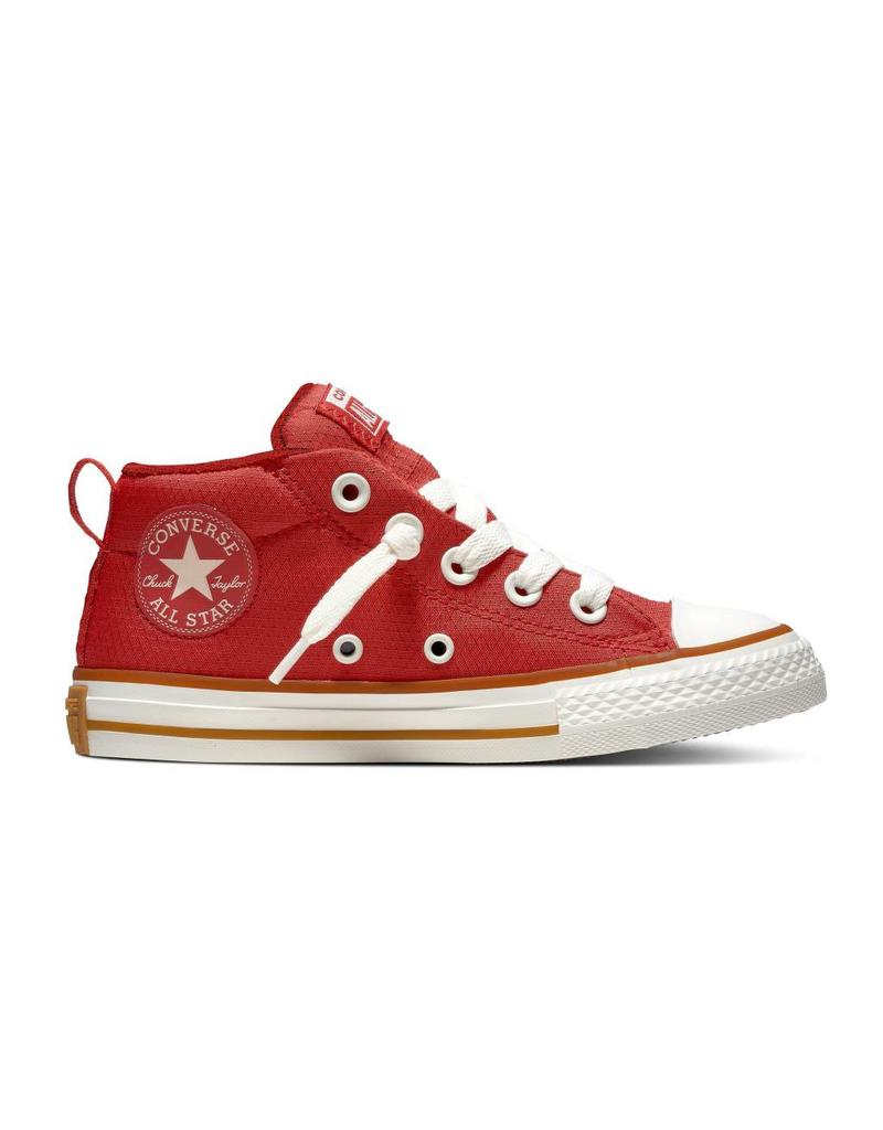 CONVERSE CHUCK TAYLOR ALL STAR STREET MID ENAMEL RED/GUM/EGRET CZ98ER-663592C