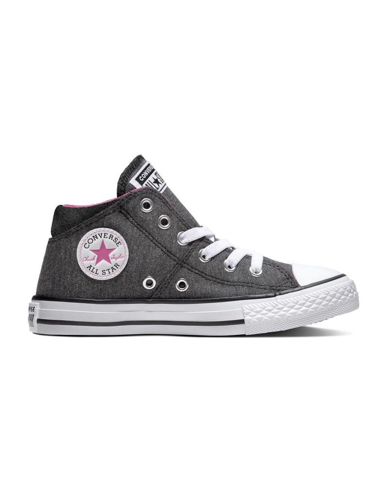 CONVERSE CHUCK TAYLOR ALL STAR MADISON MID BLACK/ACTIVE FUCHSIA CZMAF-663658C