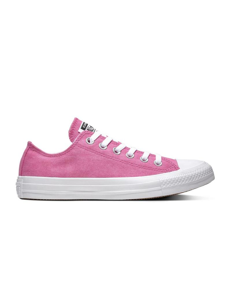 CONVERSE CHUCK TAYLOR ALL STAR OX ACTIVE FUCHSIA/WHITE/WHITE C13AF-163180C