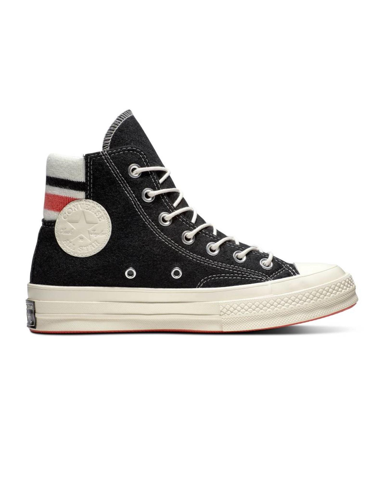 CONVERSE CHUCK TAYLOR 70 HI BLACK/SEDONA RED/EGRET C970BSE-163363C