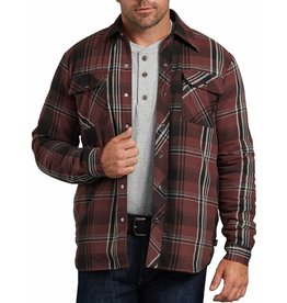 DICKIES Snap Flannel Sherpa Shirt Jacket TJ200